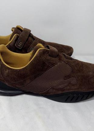 Замшевые кроссовки,ботинки puma (пума) induction p