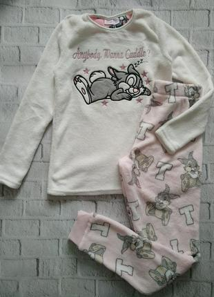 Махровая пижамка primark