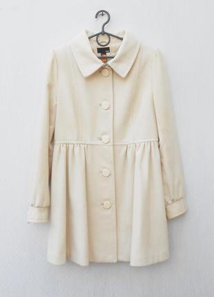Осеннее весеннее 60% шерстяное пальто