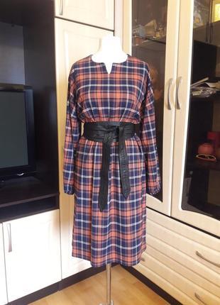 Тренд 2019!!! шикарное платье в клетку