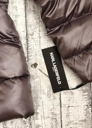 Куртка пуховик karl lagerfeld paris4 фото