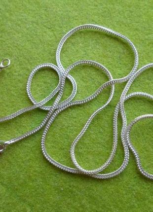 Новая цепочка снейк 45 см. - 1,61 грамма, серебро 925.