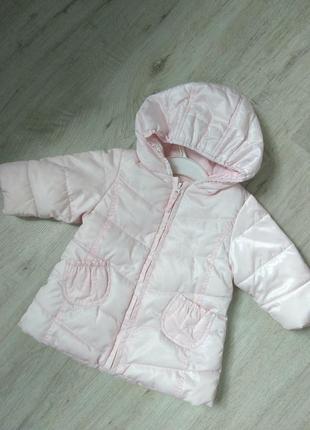 Курточка для малышки 3-6м
