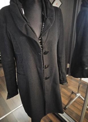 Мягкое пальто жакет кардиган легкое с шерстью