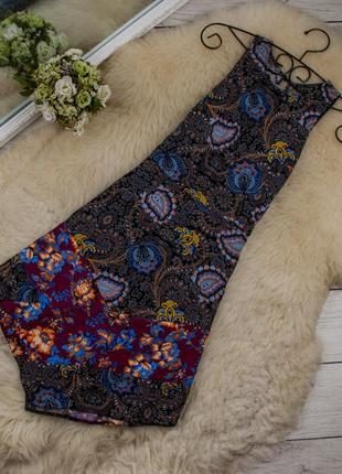 Стильное асимметричное платье от topshop рр 8 наш 42