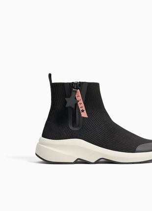 Zara ботинки женские демисезон.