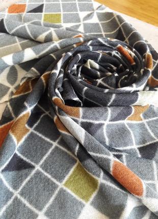 Шерстяной стильный шарф,палантин the blue turban.