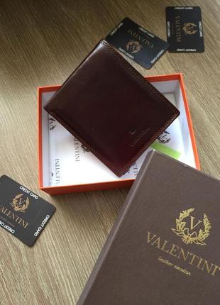 Шикарний, шкіряний, гаманець портмоне!