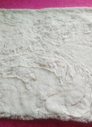 Декоративна  м'ягенька наволочка  / наволочка  з ворсом 40×40см