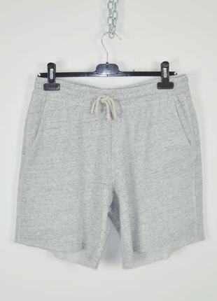 Hollister шорты мужские s m серые трикотажные летние