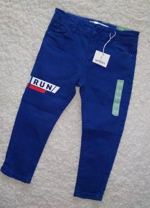 Стильные зауженые джинсы мальчику