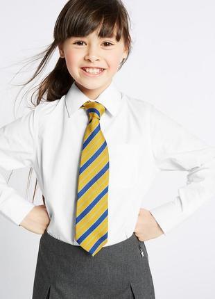 Школьные блузки для школы marks&spenser, чистый хлопок, оригинал