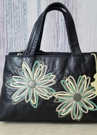 Radley кожаная женская  сумка. оригинал.