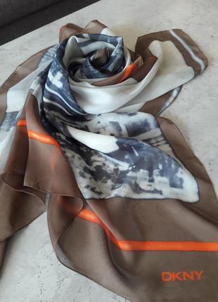 Шелковый платок bkny.