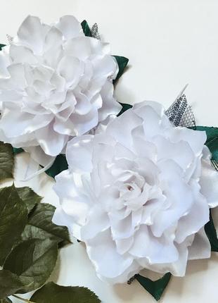 Школьные бантики в виде розы
