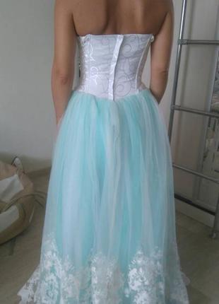 Нежное свадебное платье2 фото