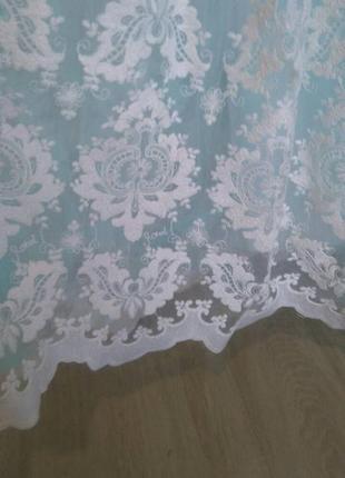 Нежное свадебное платье3 фото