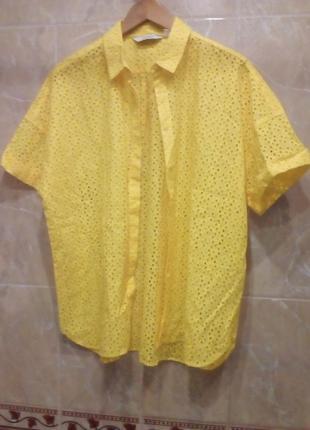 Other stories блуза кружевная ажурная 40-42 шитье