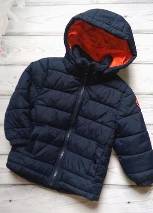 Курточка h&m холодная осень-зима для мальчика 2-3 лет