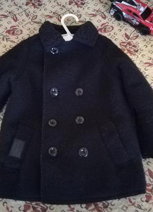 Пальтишко для маленького модника