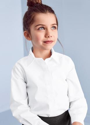 Школьная рубашка блузка next school, оригинал, 8 лет, 128 рост