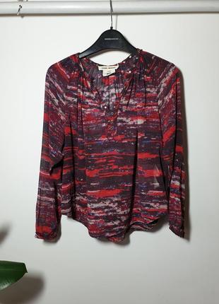 Шелковая блузка isabel marant by h&m на 9-10 лет