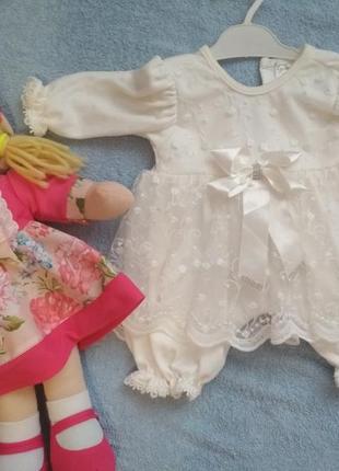 Крестильное платья