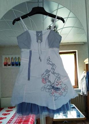 Красивое платье на брительках из германии 🇩🇪