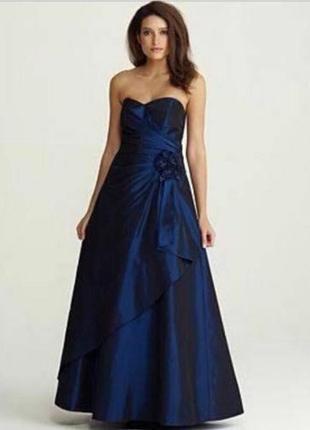 Вечернее нарядное платье с болеро debenhams debut uk 18 р.52-54