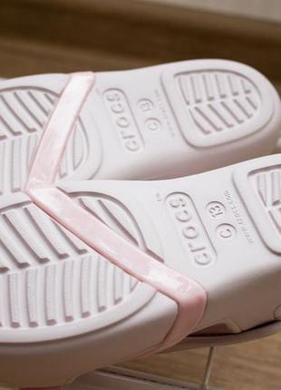 Детские сандалии crocs lina charm размер 13(30-31)7 фото