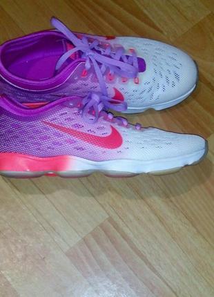 Nike / летние яркие кроссовки zoom fit agility 38 размер. для зала,бега,кардиотренировок