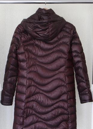 Пуховое пальто куртка ультра пуховик от andrew marc /650 fill power/ p.m