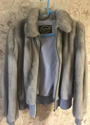 Шикарная норковая шуба  куртка