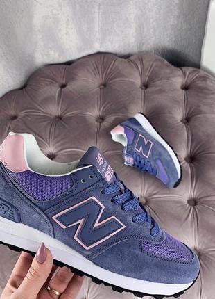Новые женские фиолетовые кроссовки