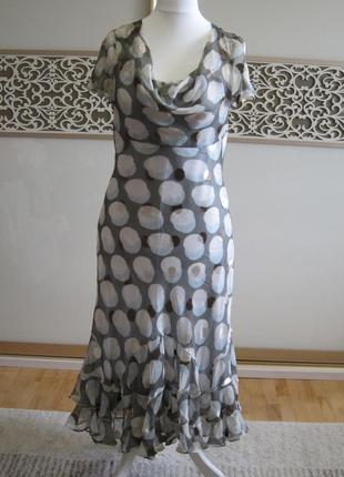 Дизайнерське плаття з натурального шовку fenn wright manson