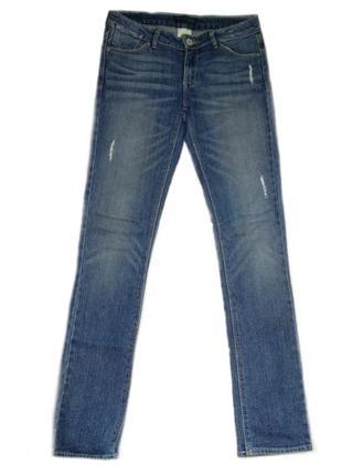 Оригинальные джинсы levi's с потертостями, средняя посадка