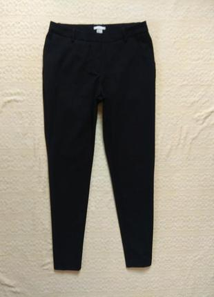 Классические черные штаны брюки со стрелками h&m, 38 размер.