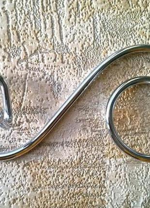 Вешалка-спираль настенная, на 2 и 4 крючка