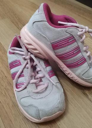 Замшевые кроссовки adidas, оригинал