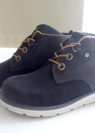 Ботинки ecco hydromax деми утепленные оригинал