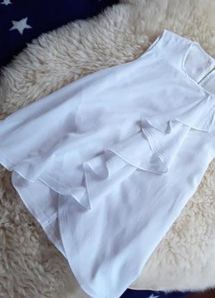 Легкая хлопковая блуза sisley
