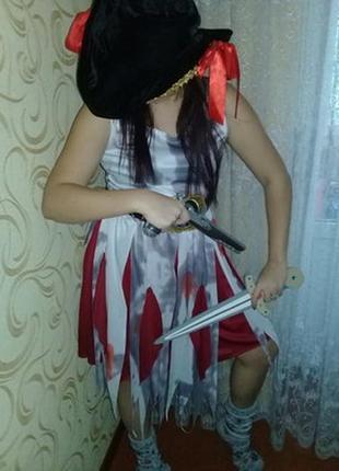 Карнавальное платье пиратки на взрослого.