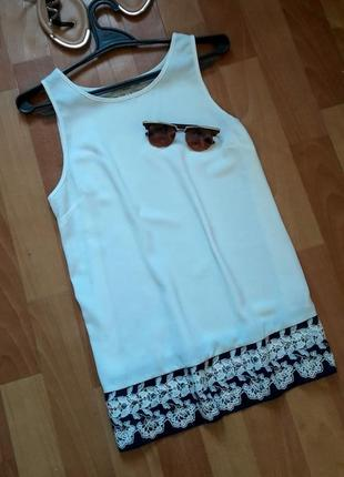 Стильна блуза з меиеживом