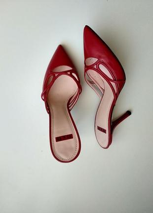 Мюли на каблуках