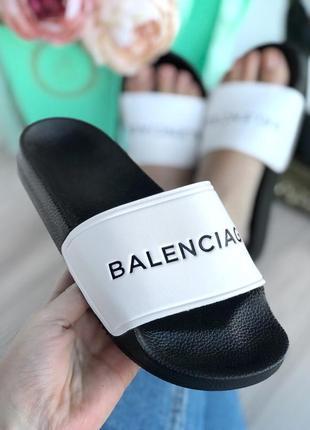 """Шлёпки под бренд """" balenci*"""