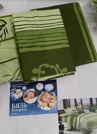 Акция!!! комплект постельного белья, двухспальный. 100% хлопок. бязь беларусь