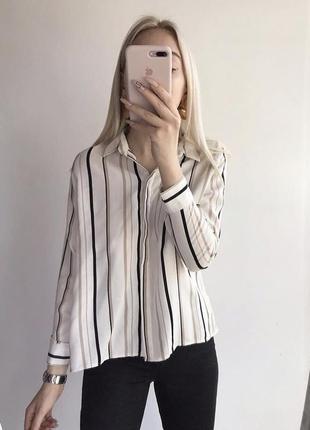 Базова сорочка в полоску