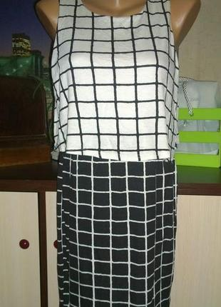 Облегающее платье сарафан из трикотажа select