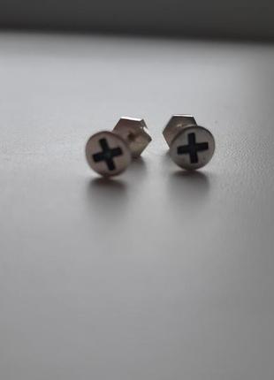 Серебряные серьги 925 пробы