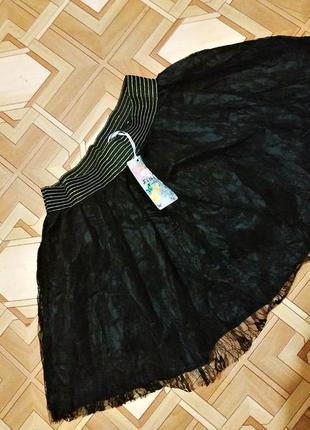 Шикарная,  новая шифоновая юбочка shirha london, р.s-м